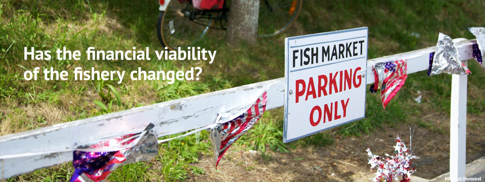 Financial Viability of the Fishery